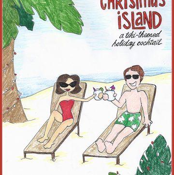 The Bar Cart: Christmas Island