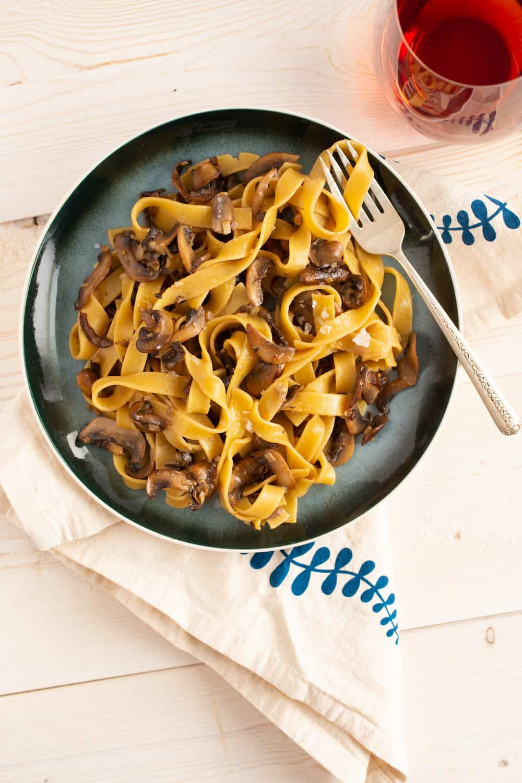 Mushroom Pasta Worth Remembering