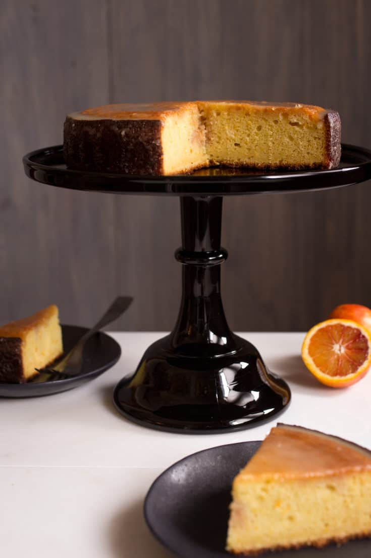 This moist citrus-olive oil cake is perfect for serving at brunch or just as a refreshing snack cake. Made with yogurt and olive oil, it's also easy to bake dairy-free.