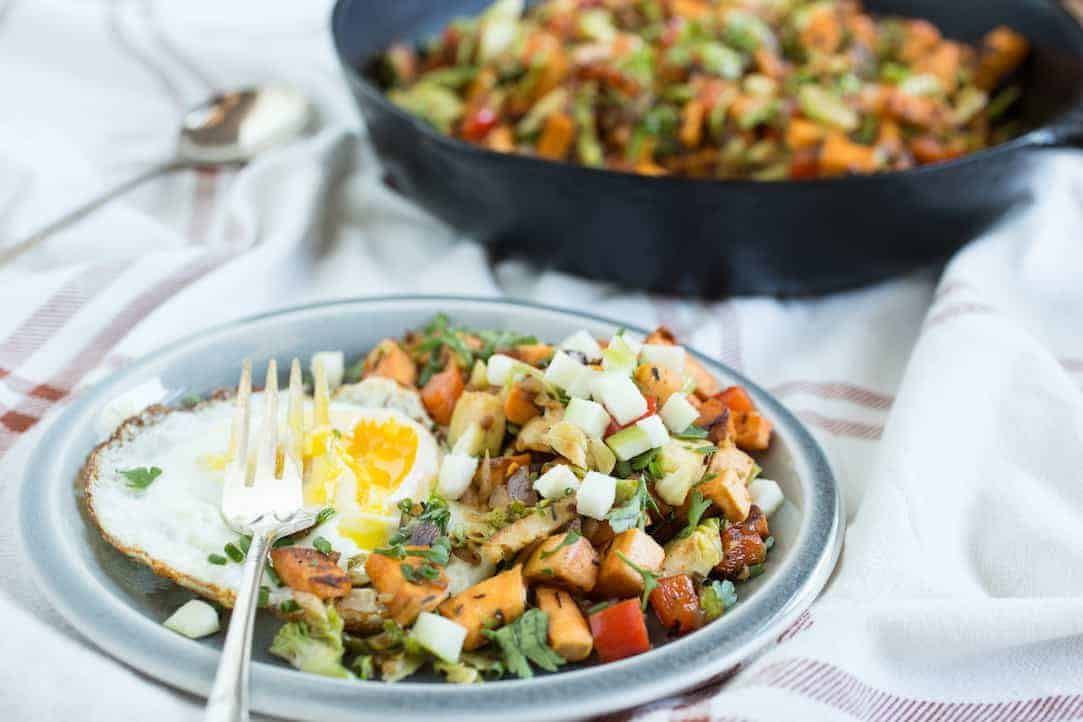 sweet potato breakfast hash, via goodfoodstories.com