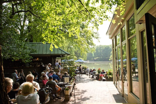 Central Park Boathouse from When Harry Met Sally, via goodfoodstories.com
