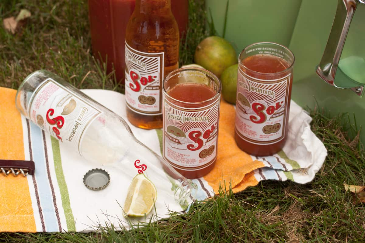 smoky micheladas - beer cocktails