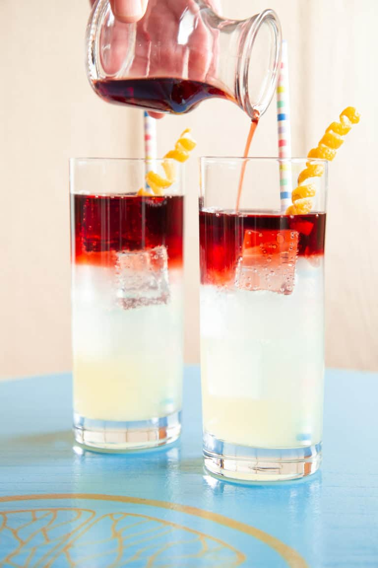 A Red Wine Spritzer for Summer