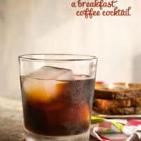 The Morning Addition: A Coffee Amaro Cocktail