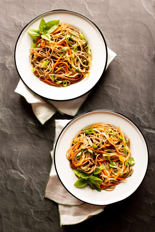 Veggie Soba Noodle Bowl – Keep Your Summer Cool