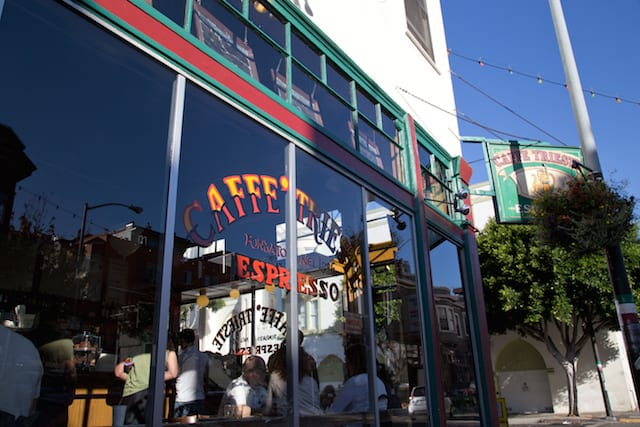 Caffe Trieste in San Francisco, via www.www.goodfoodstories.com