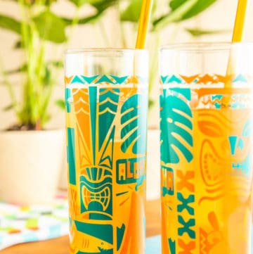 tiki whiskey sour cocktails