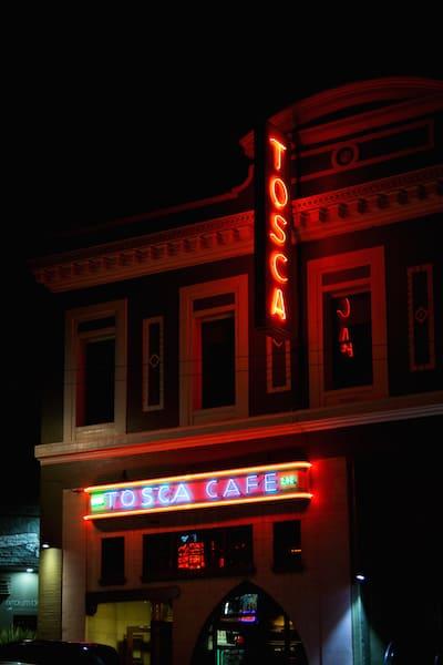 Tosca Cafe in San Francisco, via goodfoodstories.com
