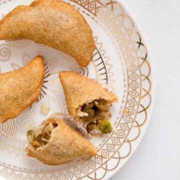 Ethiopian destaye dessert pierogies