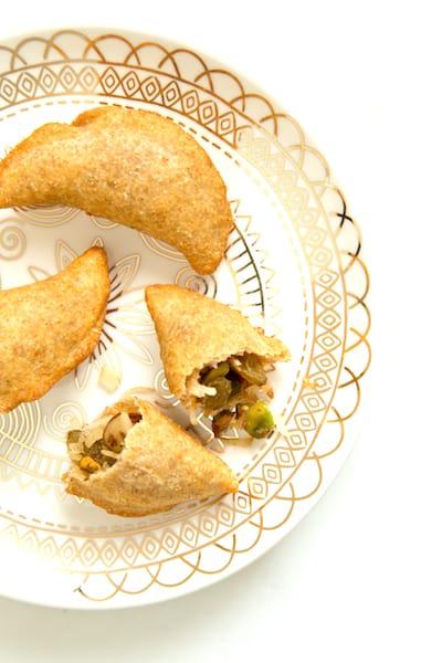 Ethiopian destaye dessert pierogies, via www.www.goodfoodstories.com