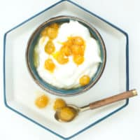 Ground Cherry (Cape Gooseberry) Compote