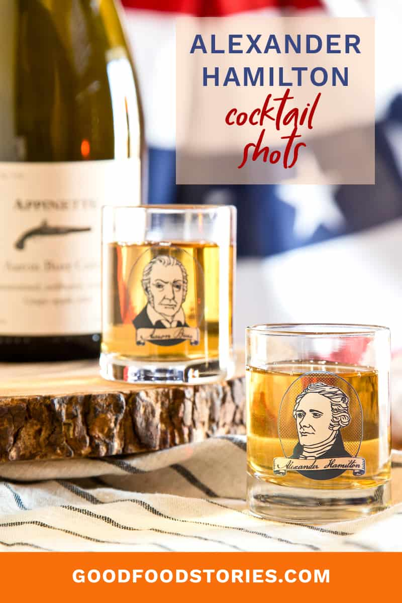 Hamilton cocktail shots