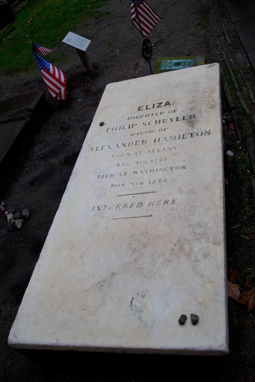 Elizabeth Schuyler Hamilton grave