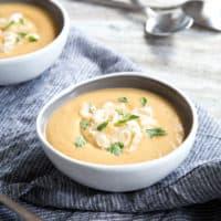 Parsnip Apple Soup (Vegan or Vegetarian)