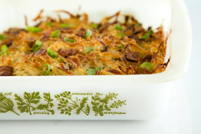 roasted hash browns with bacon and scallions from The 8x8 Cookbook, via goodfoodstories.com