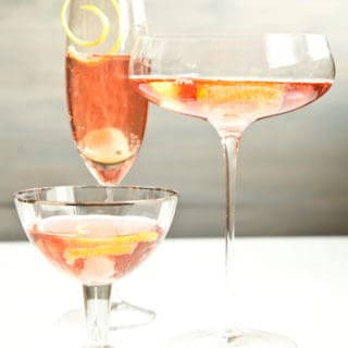 a Schuyler Sisters cocktail inspired by Hamilton, via goodfoodstories.com