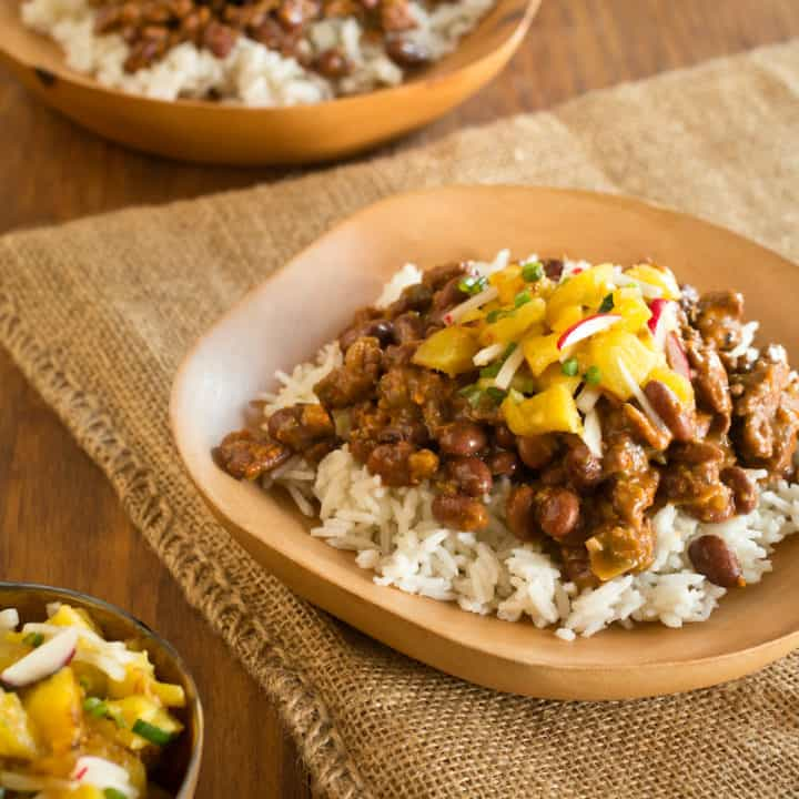 Nouveau New Orleans Red Beans and Rice