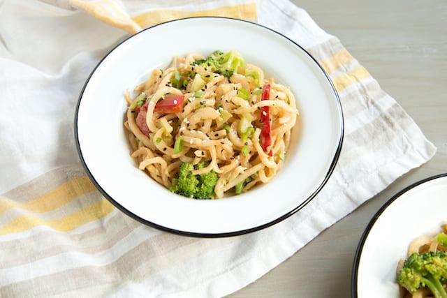daikon garlic noodles