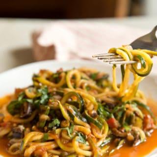 Get Saucy with Vegan Zucchini Puttanesca