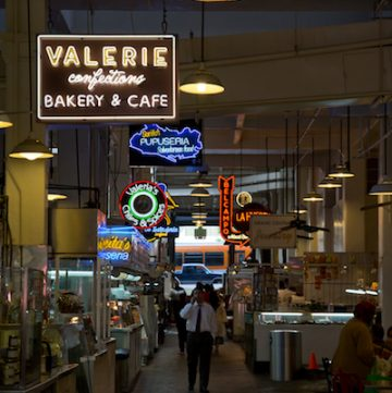 Grand Central Market in downtown Los Angeles, via www.www.goodfoodstories.com