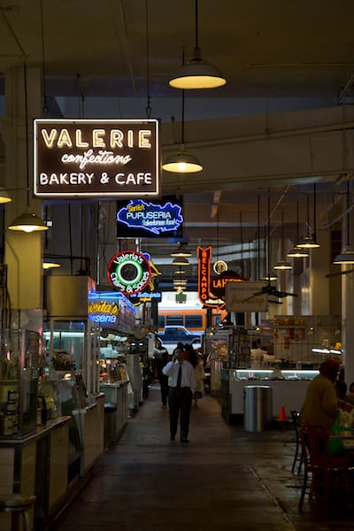 Snapshots: Grand Central Market, Los Angeles
