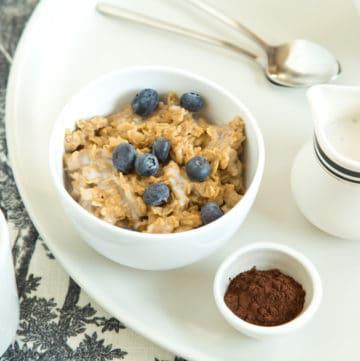 coffee oatmeal, via goodfoodstories.com