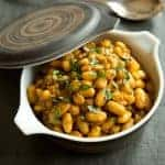 Not From the Can-nellini! Garlicky Stovetop Beans