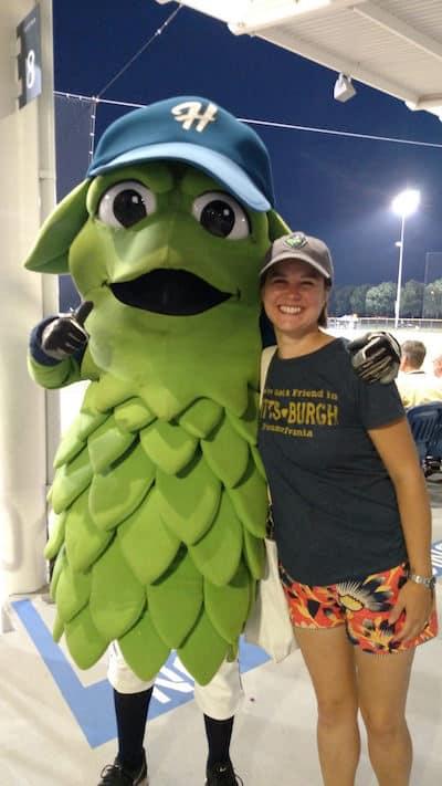 Barley of the Hillsboro Hops baseball team, via www.www.goodfoodstories.com