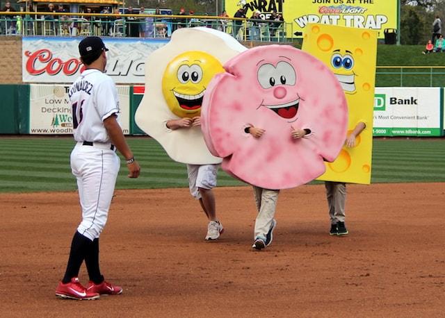 The Tastiest Minor League Baseball Mascots | Good. Food. Stories.
