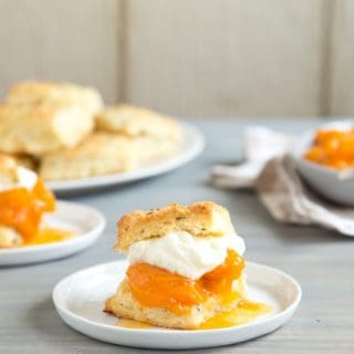 Time is of the Essence to Make Rosemary Apricot Shortcakes