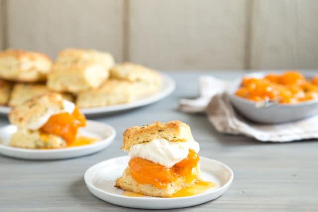 rosemary apricot shortcakes, via goodfoodstories.com