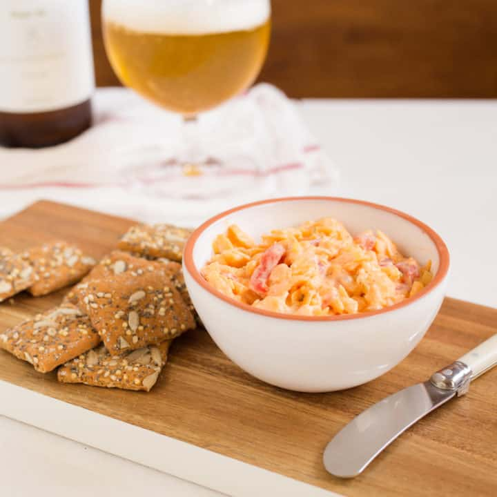 Just Enough Pimiento Cheese