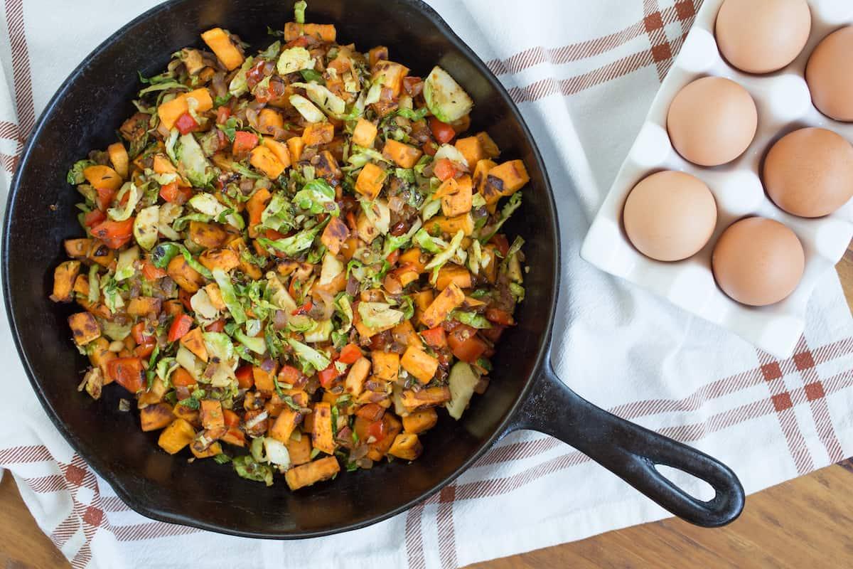 sweet potato breakfast hash, via goodfoodstories.com