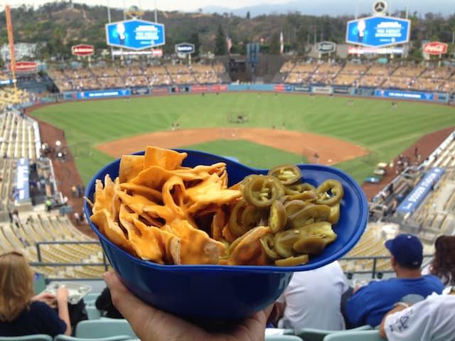 Dodgers Stadium nachos, via goodfoodstories.com