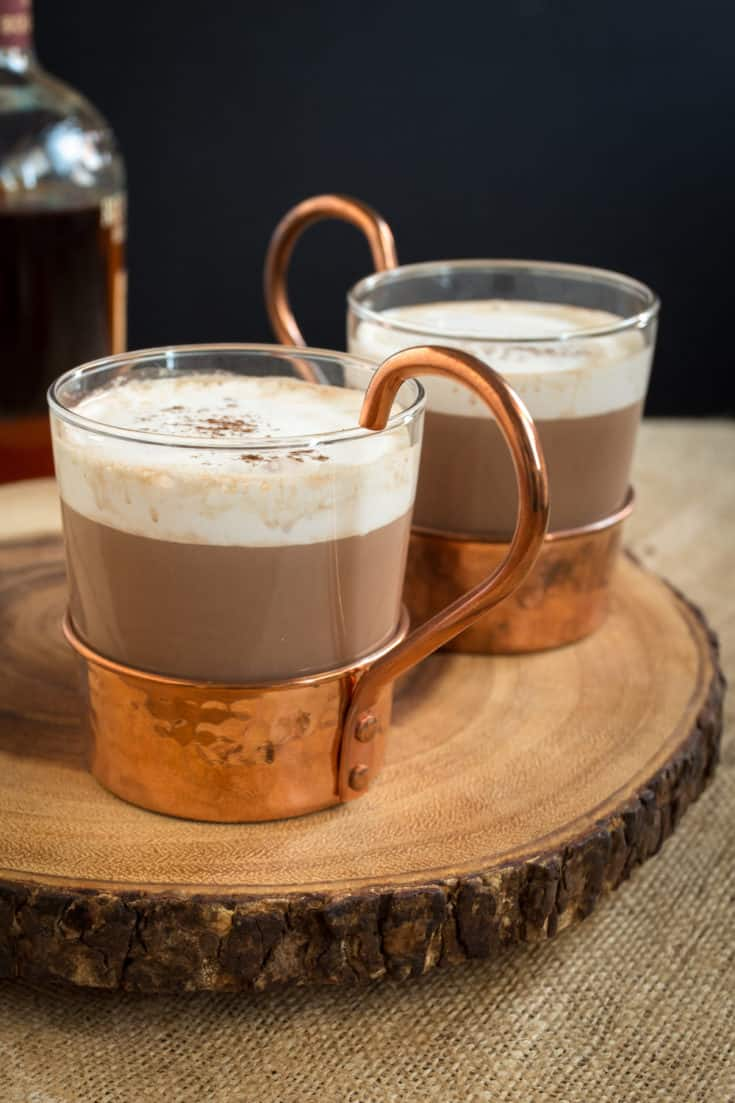 Hazelnut Bourbon Hot Chocolate Good Food Stories
