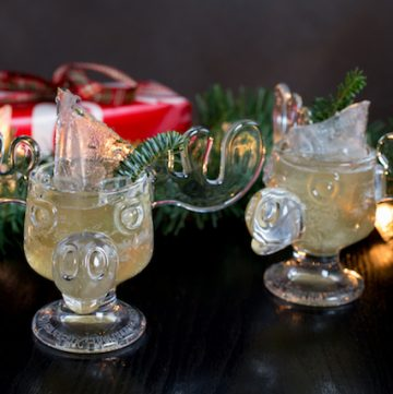 Christmas vacation cocktail, via goodfoodstories.com