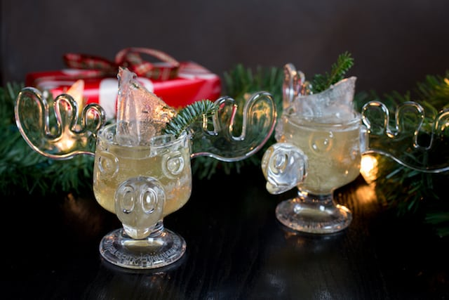 christmas vacation cocktail via wwwwwwgoodfoodstoriescom - Moose Glasses From Christmas Vacation