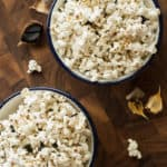 black garlic sesame popcorn