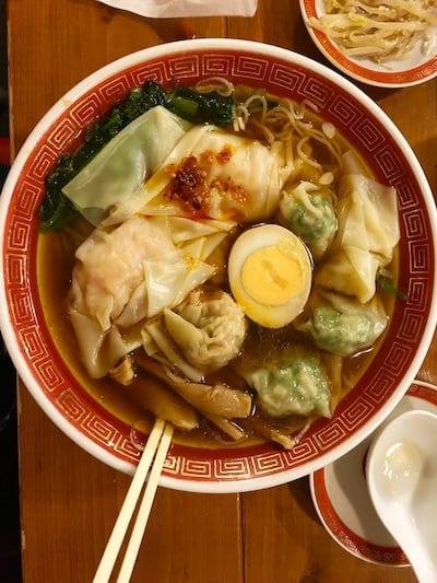 dumpling soup in Japan, via goodfoodstories.com