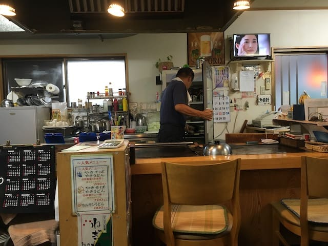 Naoshima dumpling joint soup in Japan, via goodfoodstories.com