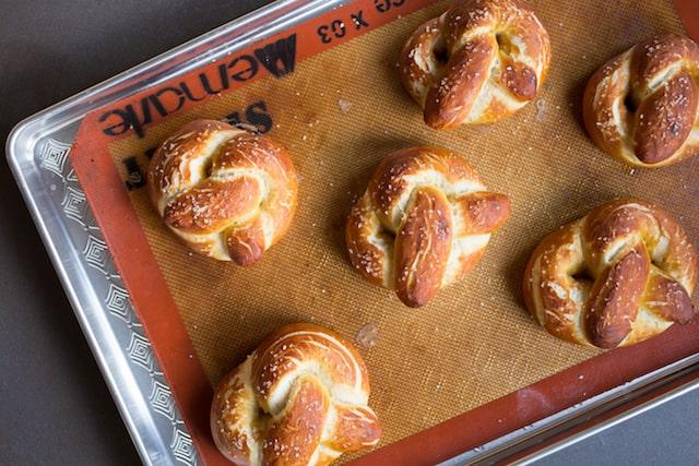 homemade soft pretzels, via goodfoodstories.com