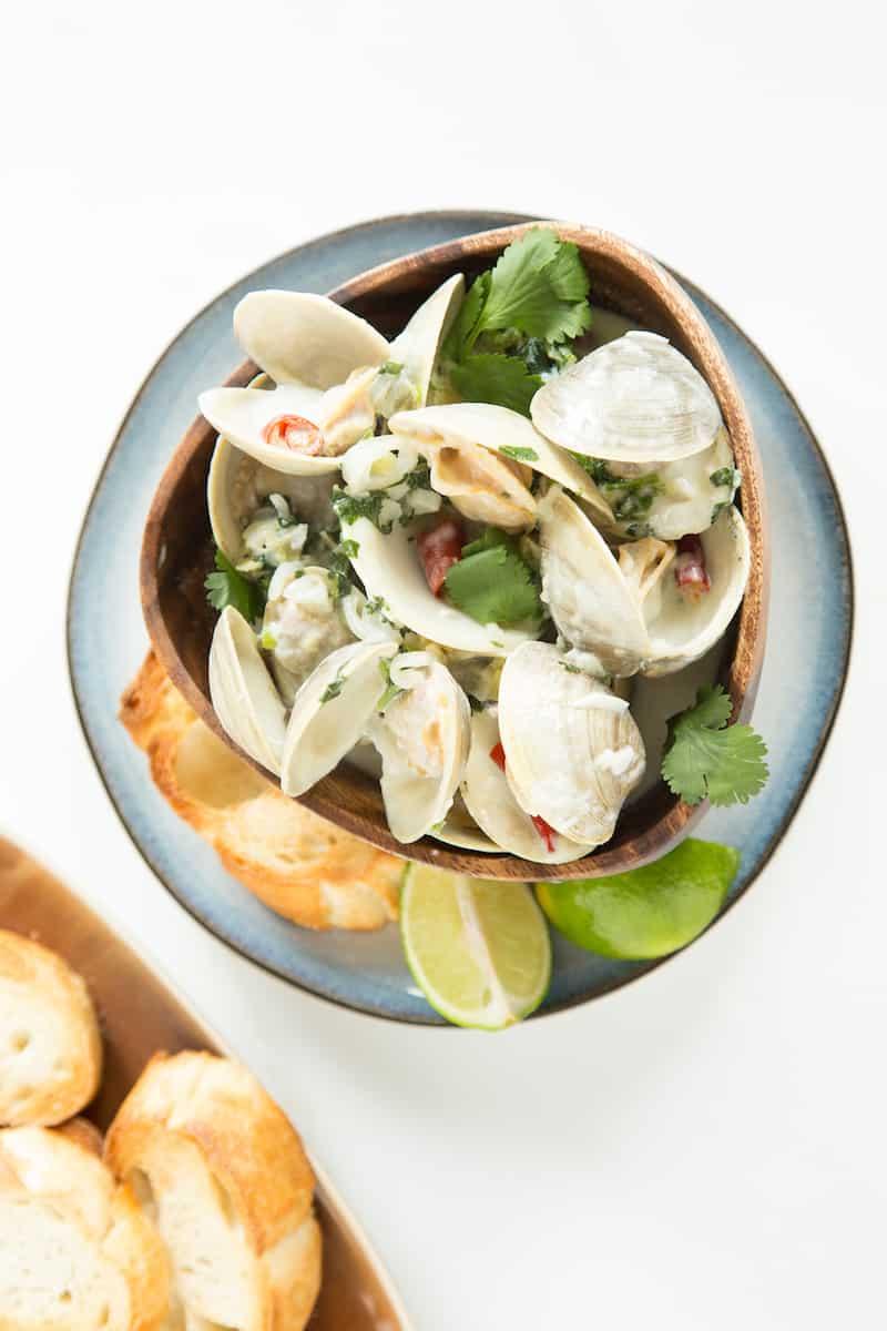 Thai coconut clams, via goodfoodstories.com