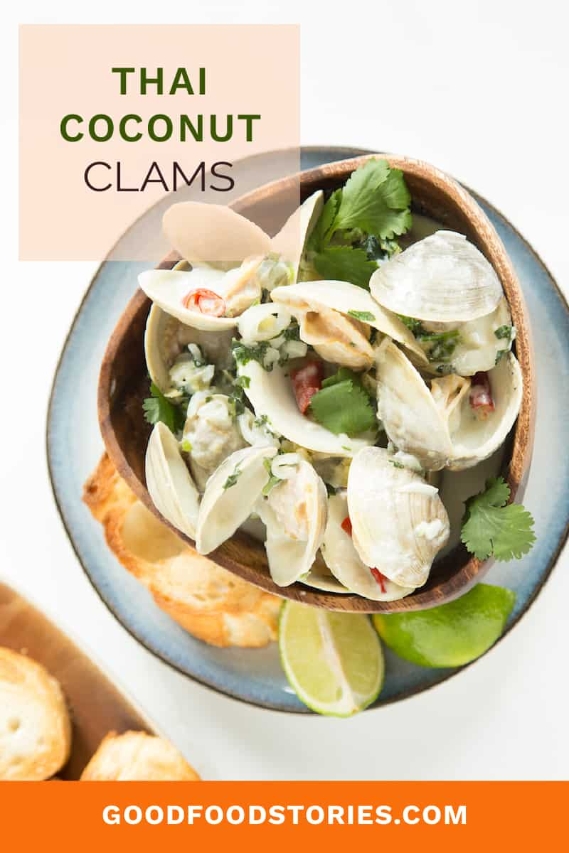 Thai coconut clams