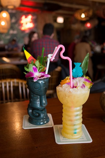 A Tale of Two Tiki Bars: Lost Lake and Three Dots and a Dash, Chicago
