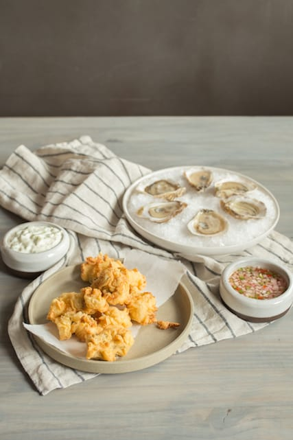 a pairing of fried and raw oysters for John Adams and Thomas Jefferson, via www.www.goodfoodstories.com
