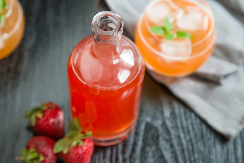 Strawberry Shrub