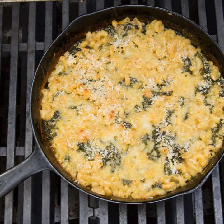 make mac and cheese on the grill, via www.goodfoodstories.com