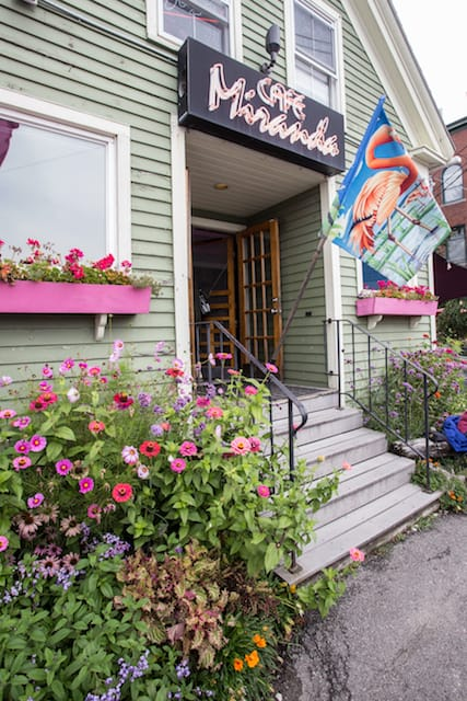 Cafe Miranda in Rockland, Maine - via goodfoodstories.com