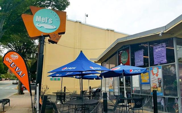 Mel's Cafe in Charlottesville, VA - via www.www.goodfoodstories.com