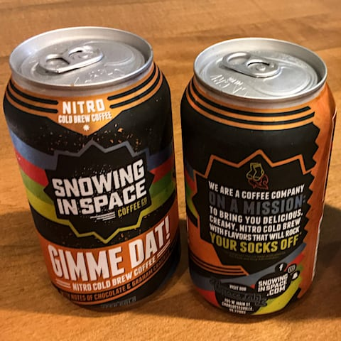Snowing in Space Nitro Coffee - via www.www.goodfoodstories.com